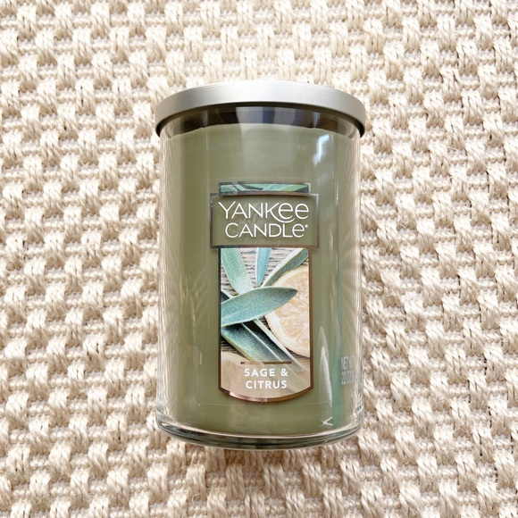 Yankee Candle Sage and Citrus Candle 22oz